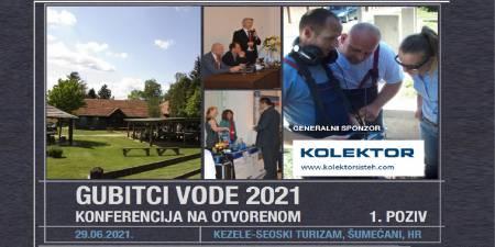 Konferencija Gubitci vode 2021 -  uživo na otvorenom!
